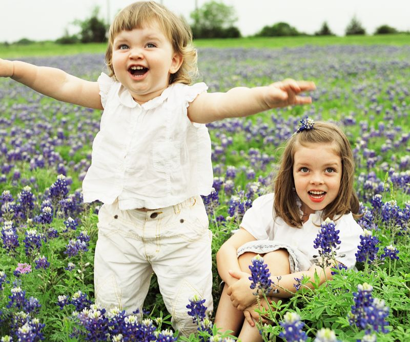 Image result for kids with flowers pictures