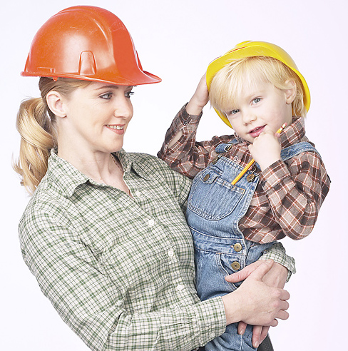 mom son hardhat2 Powerful Role Models: Seven Ways to Make a Positive Impact on Children