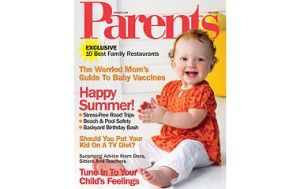Dr. Robyn Silverman in Parents Magazine
