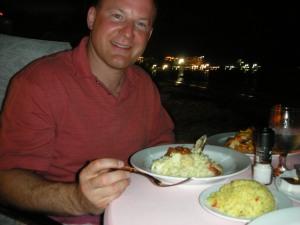 Seafood Risotto in Aruba