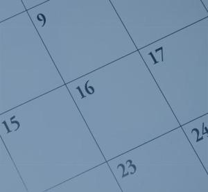 calendar for goal setting