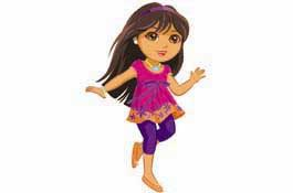 dora the explorer as a tween