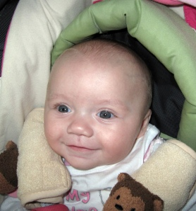 Talia Silverman at 4 months