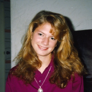 Dr. Robyn SIlverman as a young teenager